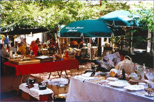Antique-Markt in der Church Street in Kapstadt