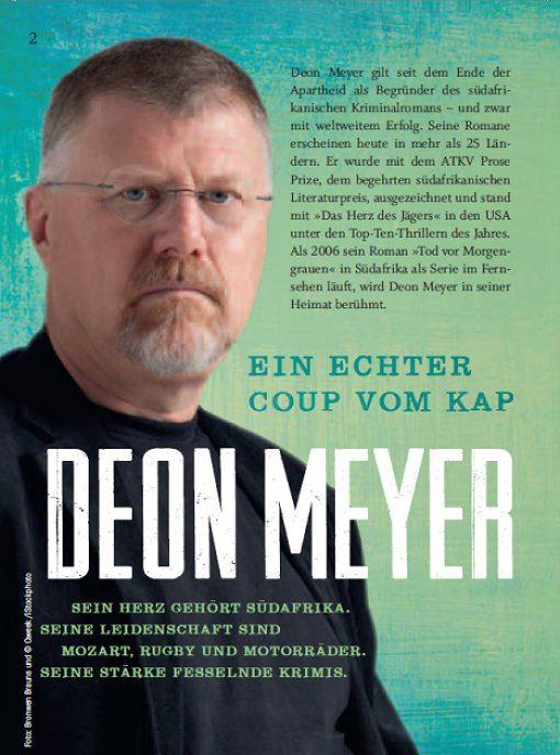 Die Verfilmung weiterer Bücher steht bereits an. - cobra-deon-meyer-1