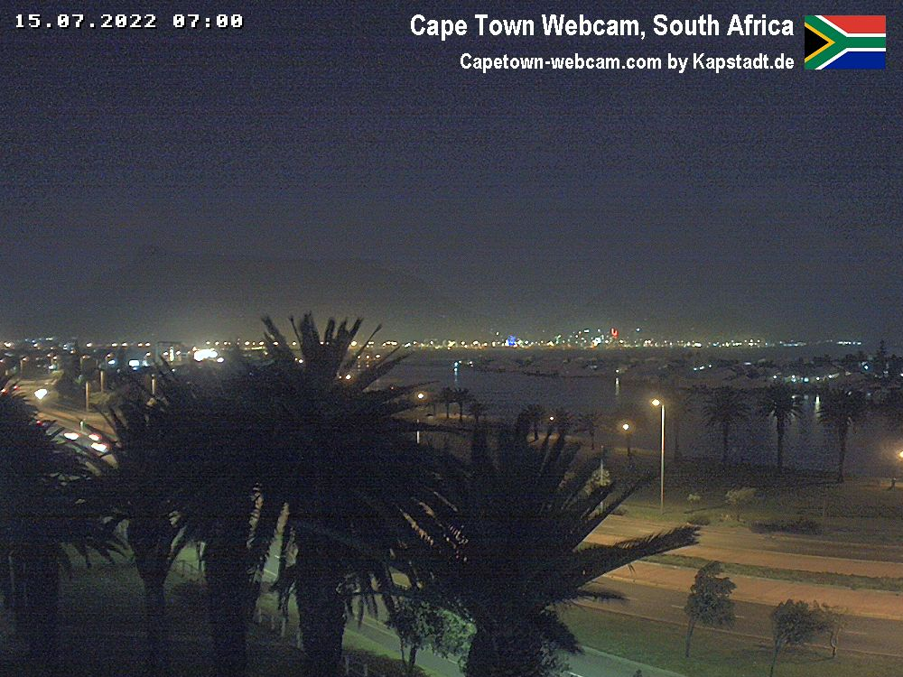Cape Town Citybowl Webcam