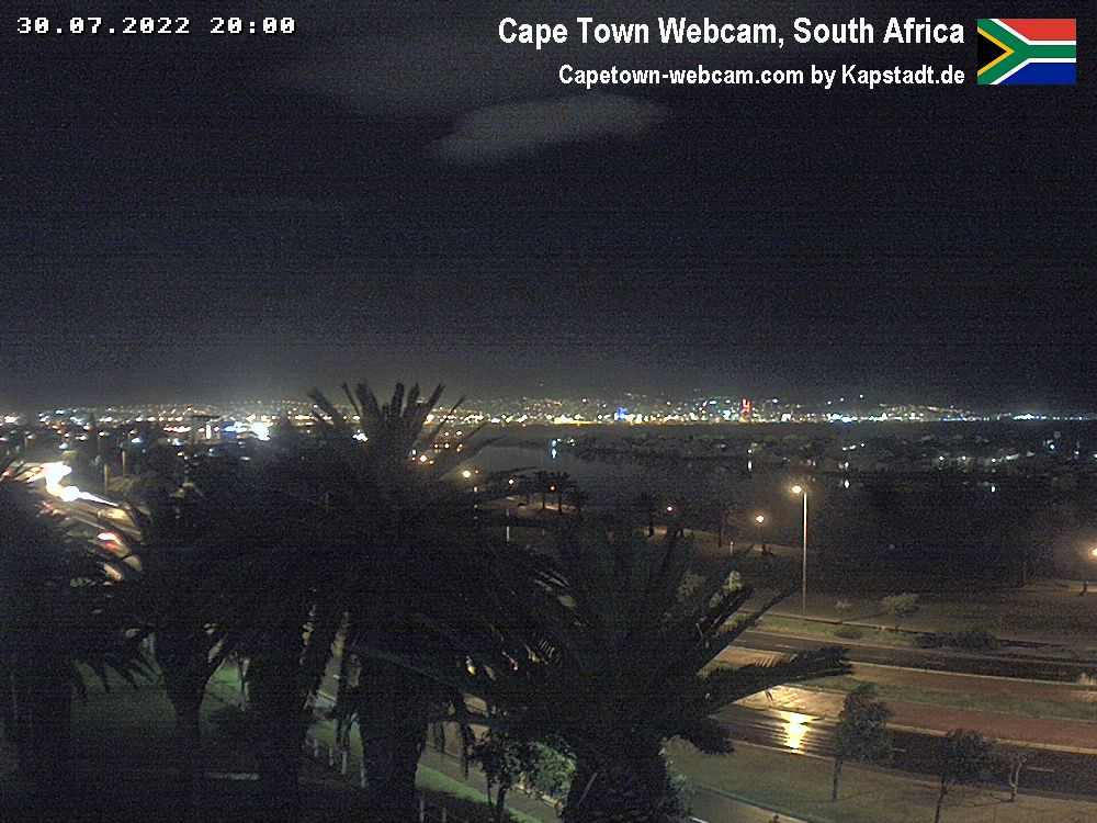 Webcam Cape Town - Table Mountain Live webcamera