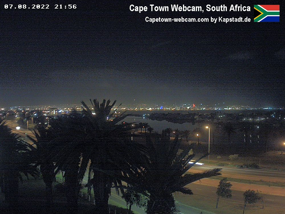 live webcam of Table Mountain in Cape Town