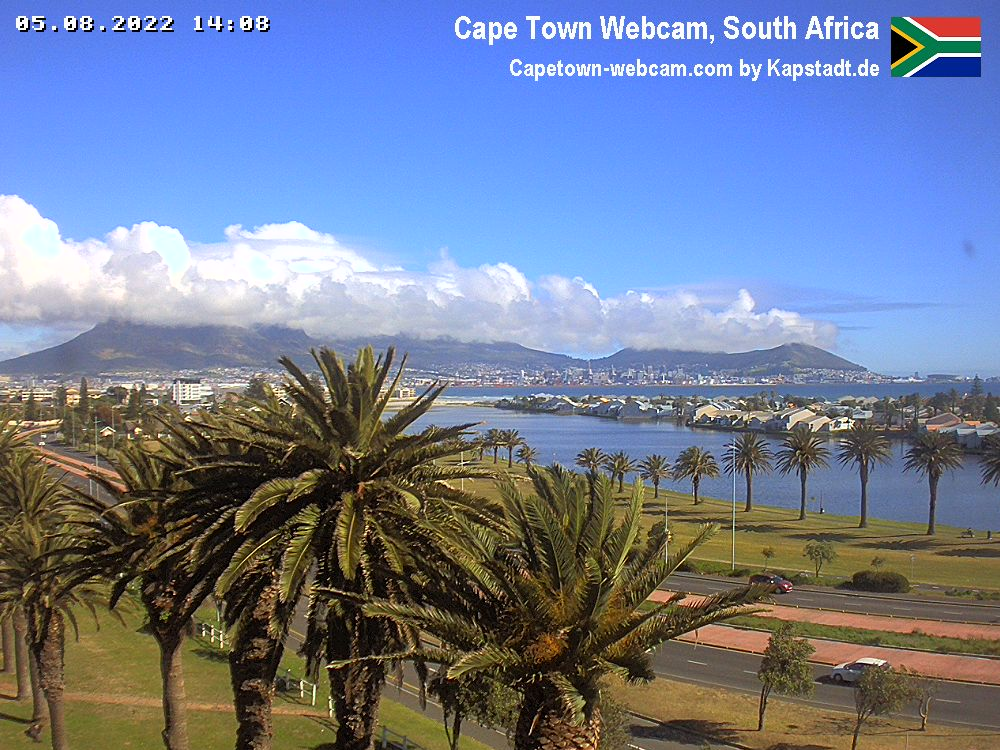 Cape Town South Africa Webcam Camera Port Of Cape Town