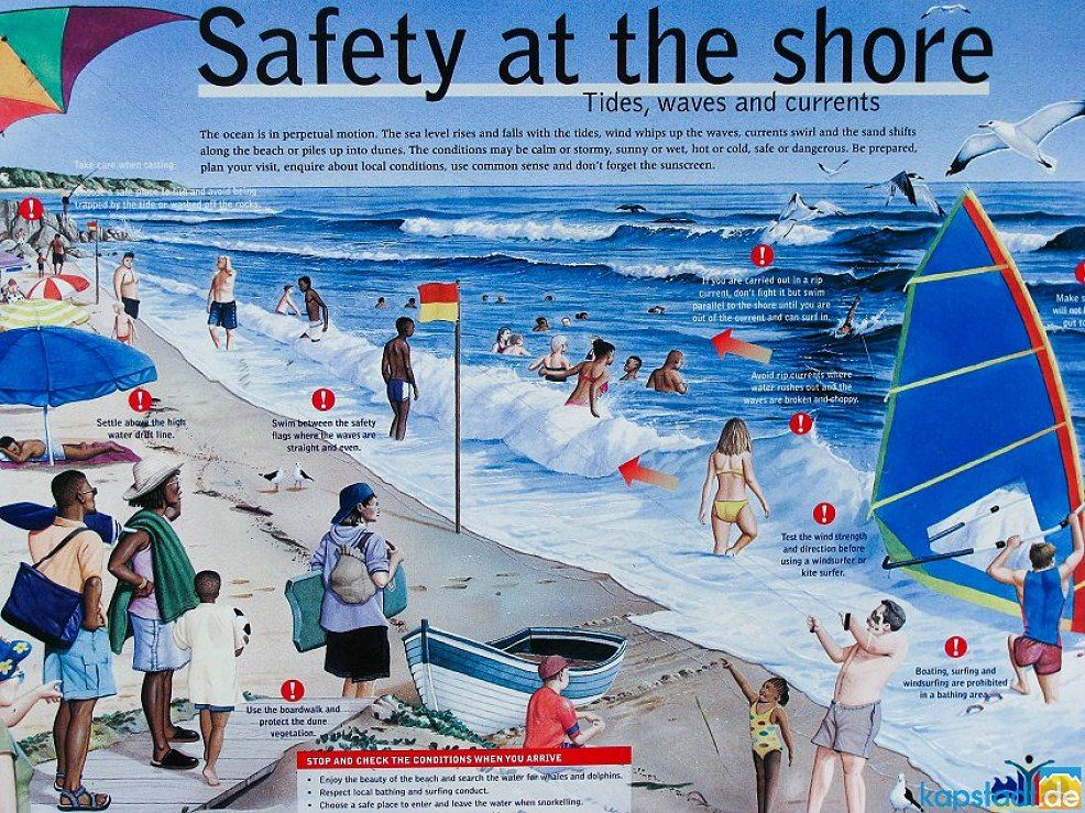safety at the shore