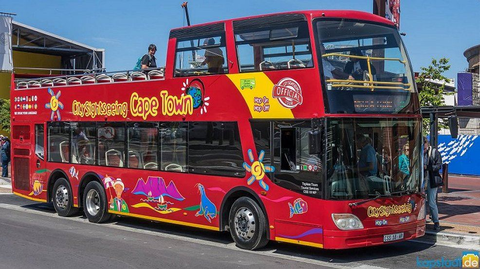 city sightseeing topless bus